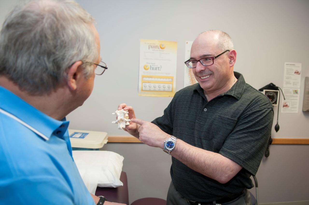 Dr Scott Epstien with client